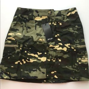 Nasty Gal Skirts - NWT NASTY GAL camo skirt